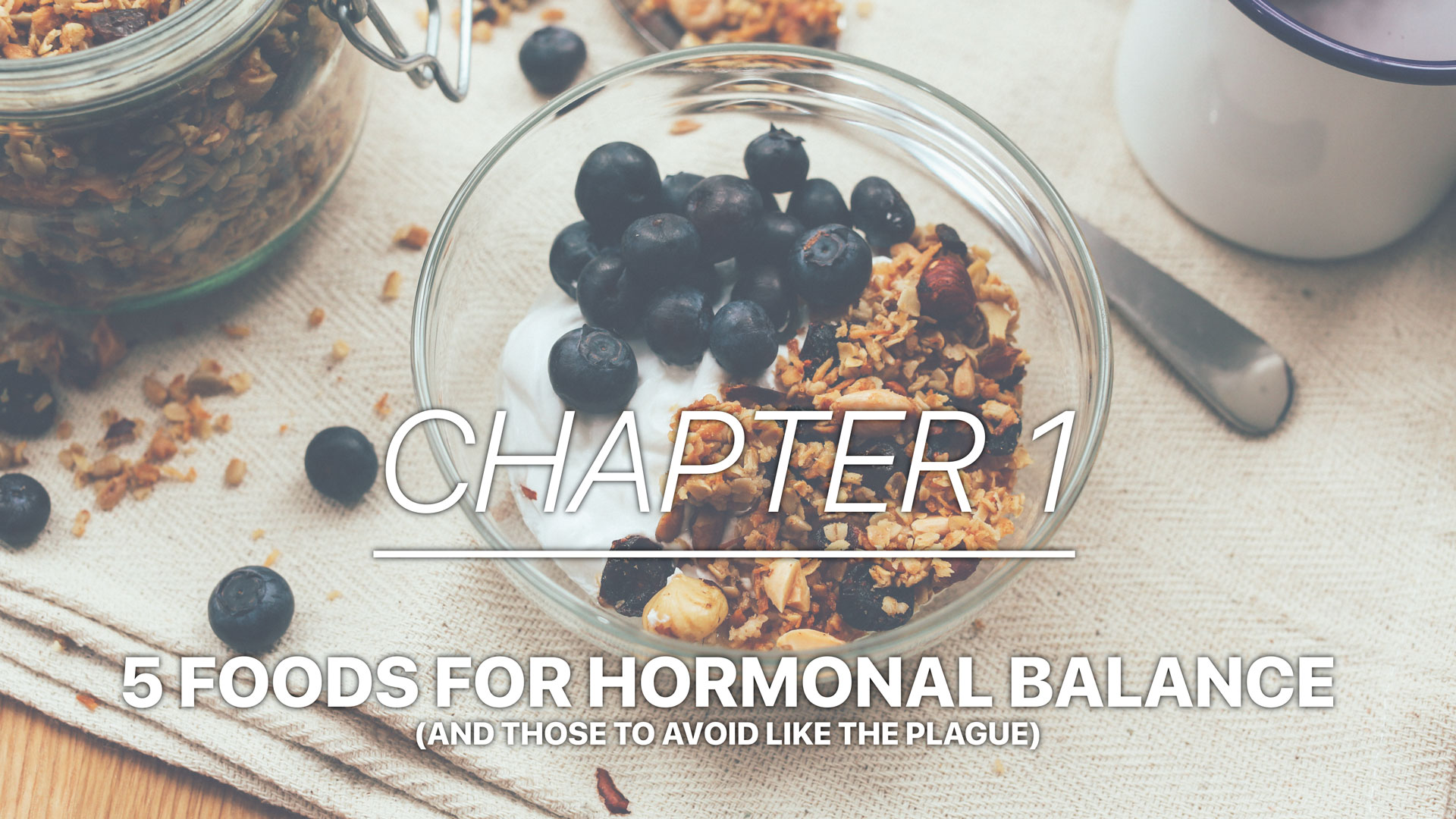 How to Feel Amazing in Menopause Audiobook Chapter 1- 5 foods for hormonal balance